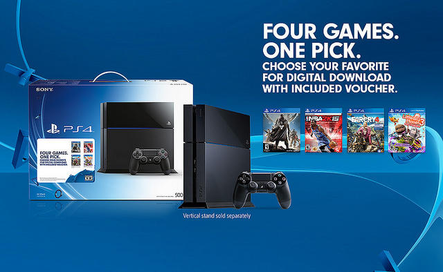 PlayStation 4 - Holiday 2014 Game Bundle