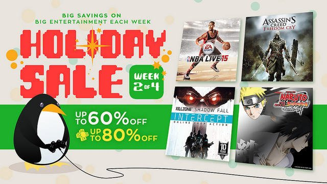 PlayStation Holiday Sale 2014