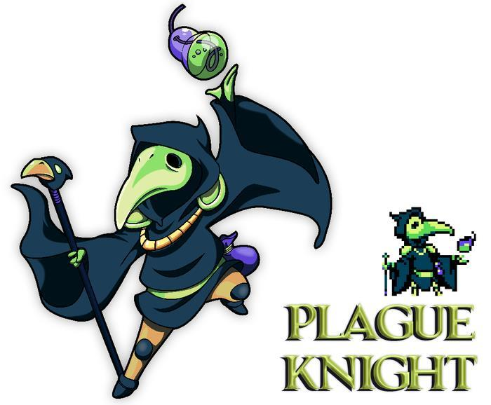 Shovel Knight Plague Knight