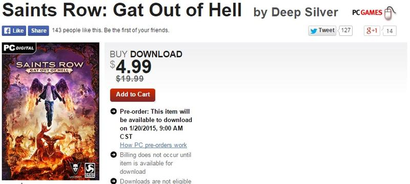 Gat Out of Hell GameStop Price