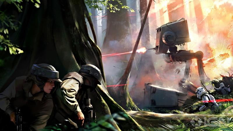 Star Wars Battlefront Concept Art - Small