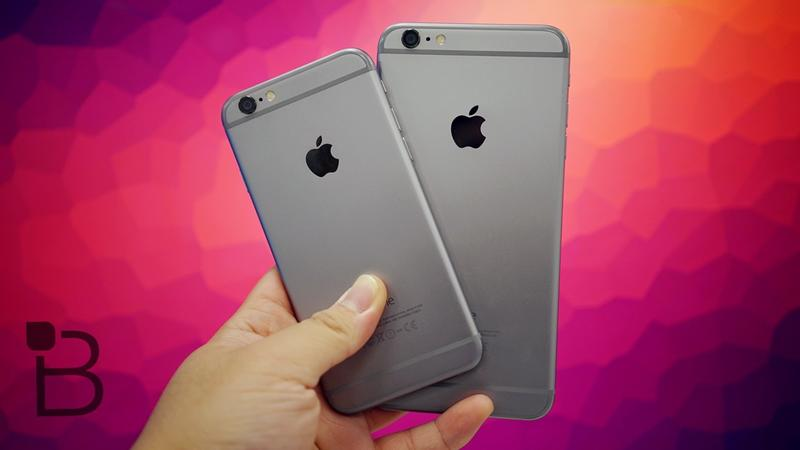iPhone 6 and 6 Plus B