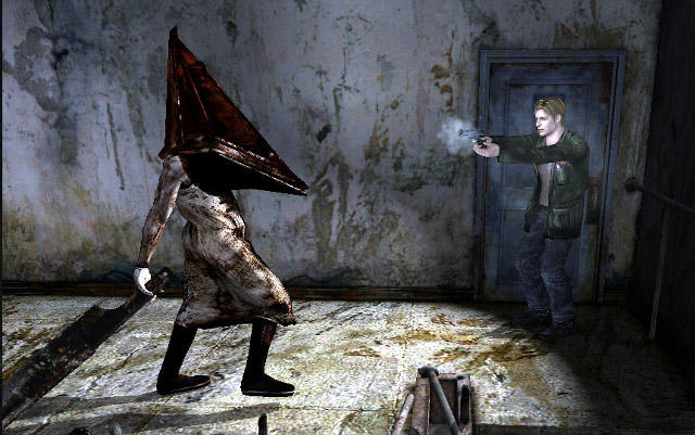 Silent Hill Monster Pyramid Head S Blade Is Just As Scary In Real