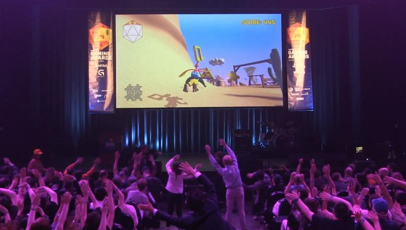 Banjo-Kazooie Motion Control Game at SXSW
