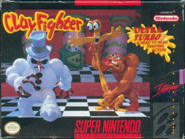 ClayFighter Box