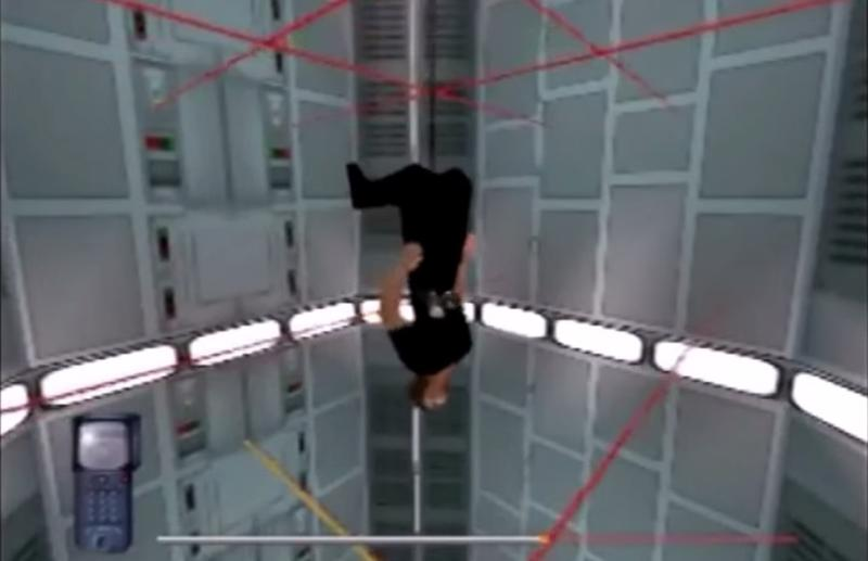 Mission Impossible lasers