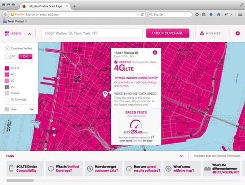 T-Mobile intros awesome new coverage map | TechnoBuffalo