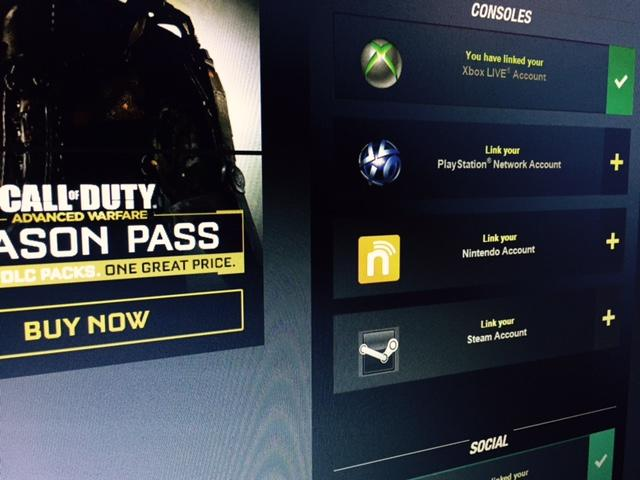 Call of Duty Account Link
