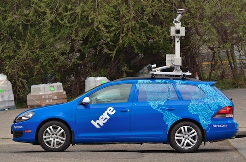 nokia here car