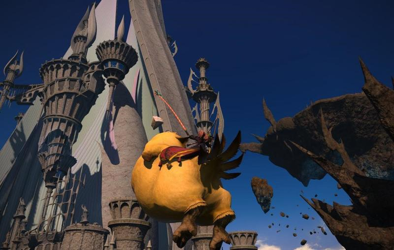 Final Fantasy XIV Heavensward fat chocobo