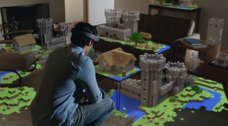 HoloLens' field of view is like standing 2 feet away from a