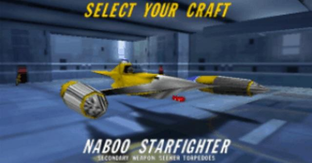 Naboo Starfighter - Rogue Squadron
