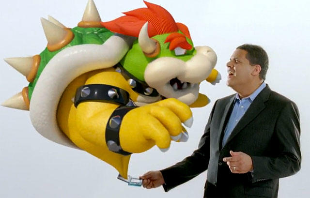Nintendo 3DS - Bowser and Reggie