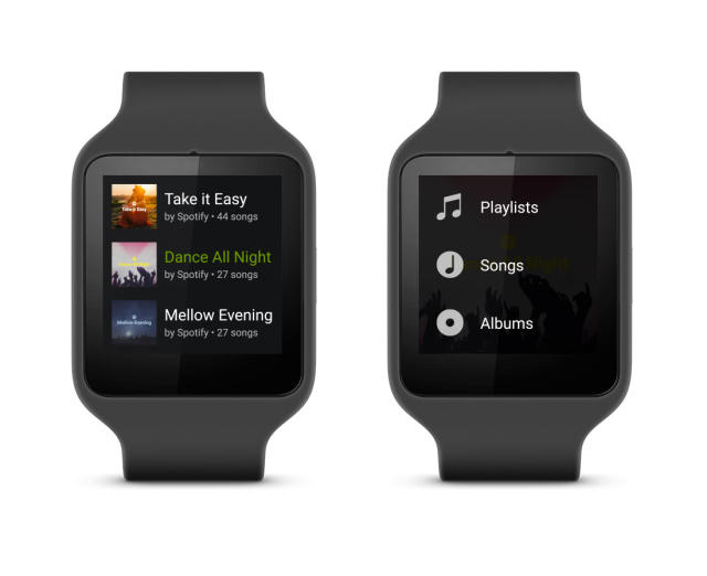Spotify coming to Android Wear next month | TechnoBuffalo