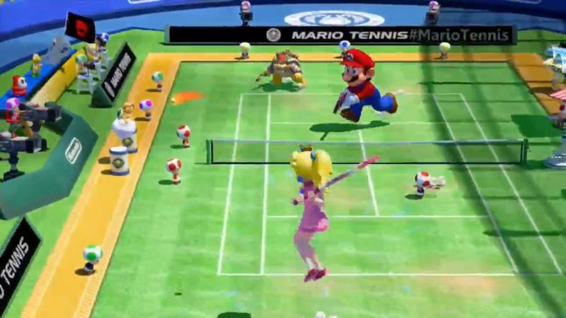 Mario Tennis Super Smash - Nintendo E3 2015 Stream -01