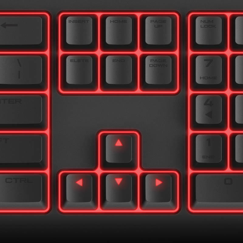 Corsair STRAFE Mechanical Gaming Keyboard review: A solid