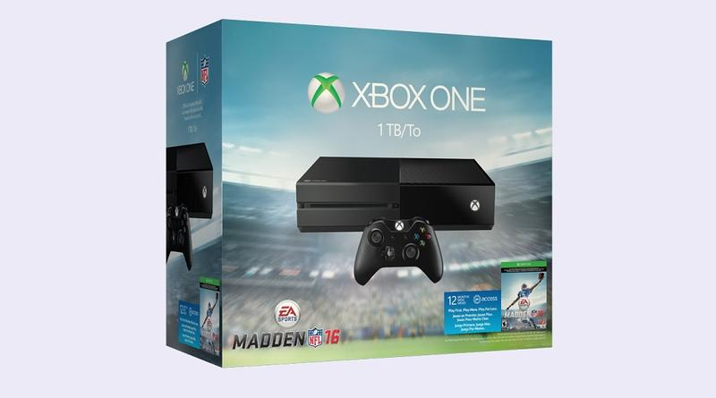 Madden NFL 16 Xbox One Console Bundle