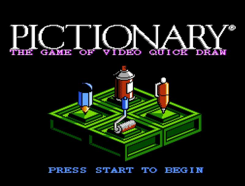 Hold up, why is the music for Pictionary on the NES so good
