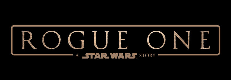 Rogue One Logo Super Sized
