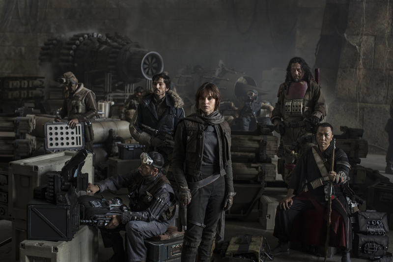 Rogue One main cast