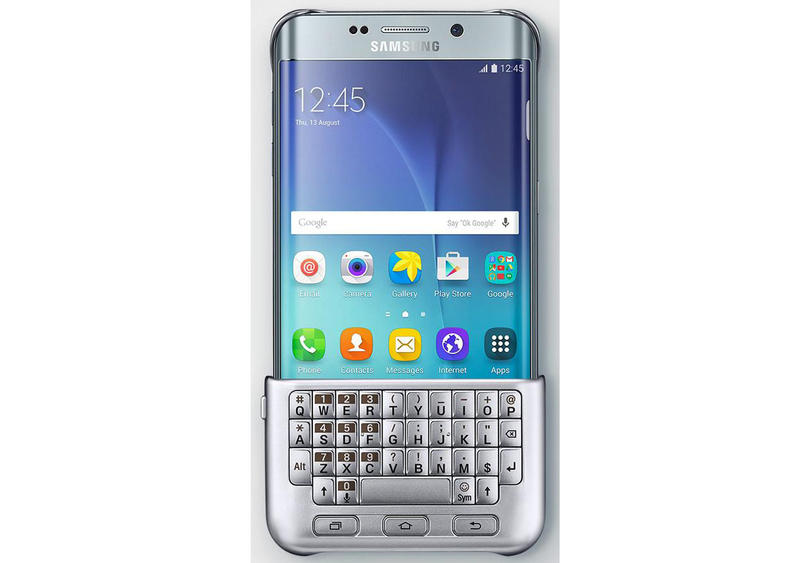 Samsung wants to attach a physical keyboard to the Galaxy S6