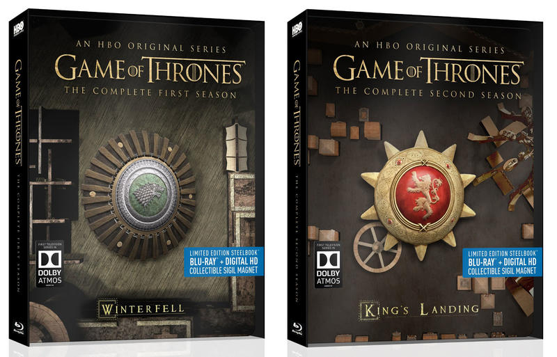 Game of Thrones Seasons 1 and 2 Blu-ray Giveaway