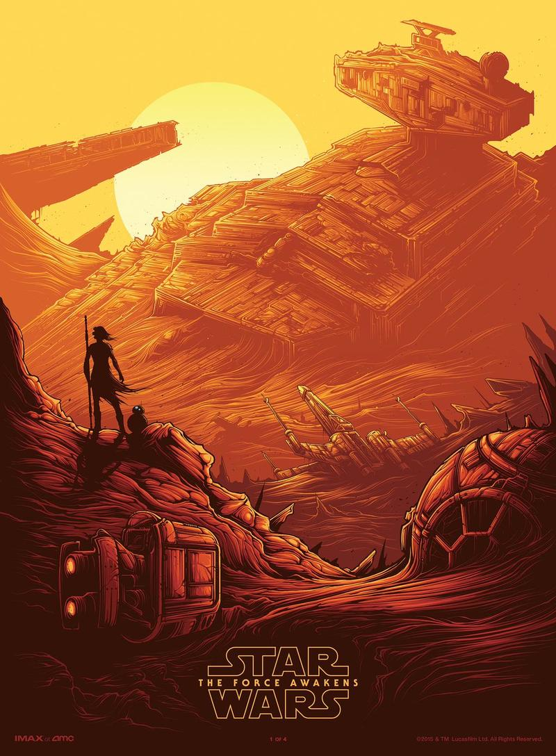 The First Star Wars The Force Awakens Imax Poster Revealed And It Looks Awesome Technobuffalo
