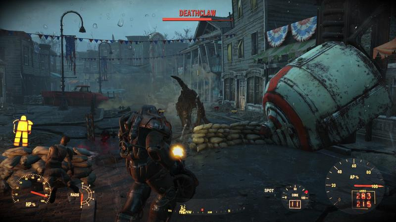 Fallout 4's actual game speed is tied to its framerate on PC, and