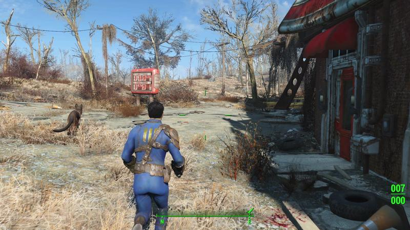 Fallout 4's actual game speed is tied to its framerate on PC