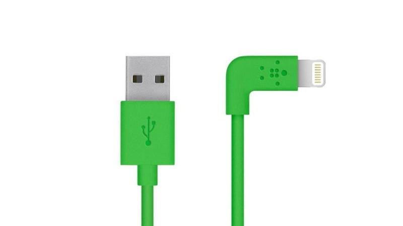 Belkin Apple MFi Certified 4-Foot 90 Degree Lightning to USB Charge Sync Cable
