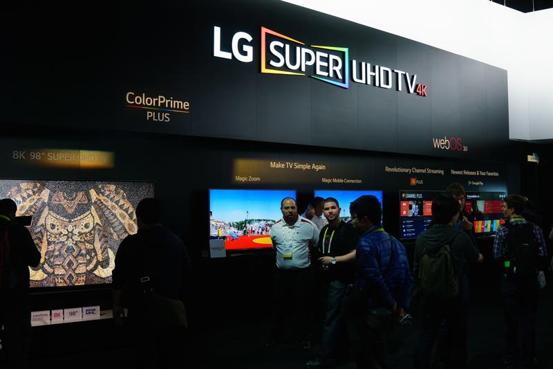 CES 2016 Booth LG-4