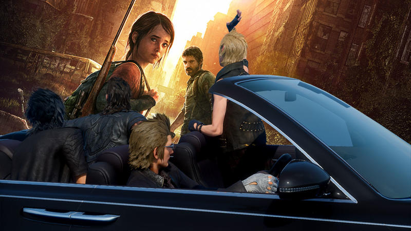 Final Fantasy XV The Last of Us