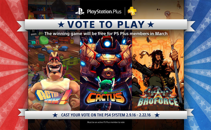 PlayStation Plus Vote to Play
