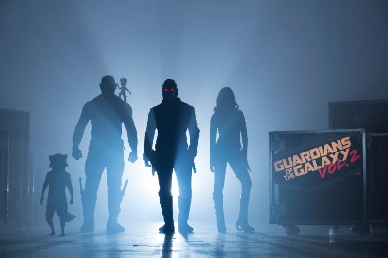 Guardians of the Galaxy Vol. 2 first photo