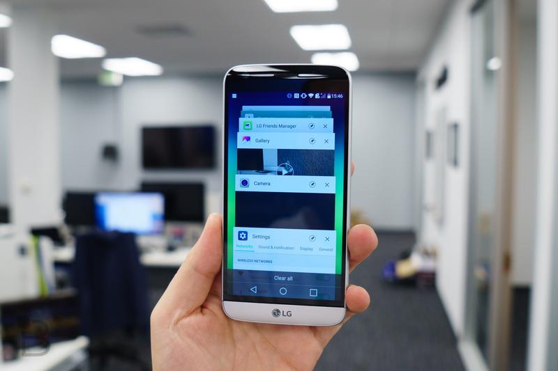 Don't panic: The LG G5 does have an app drawer   TechnoBuffalo