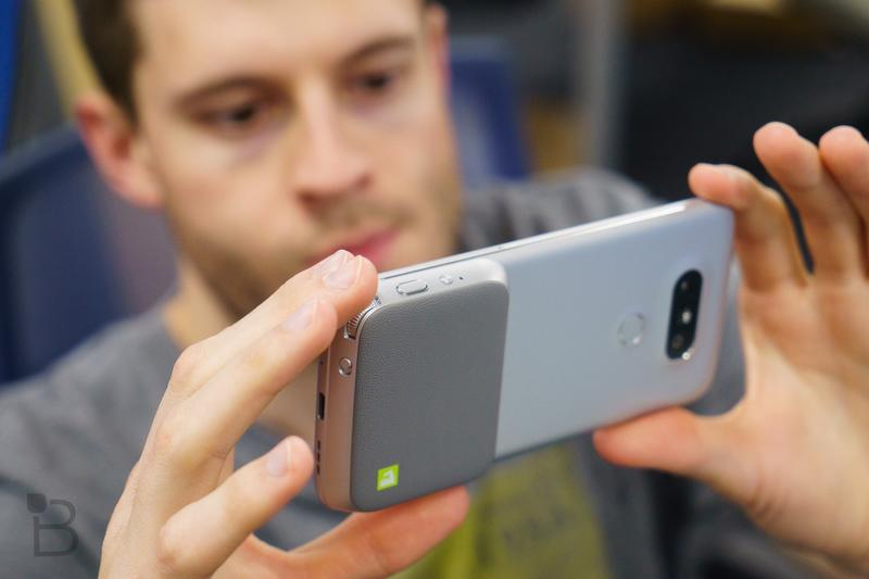 Don't panic: The LG G5 does have an app drawer | TechnoBuffalo