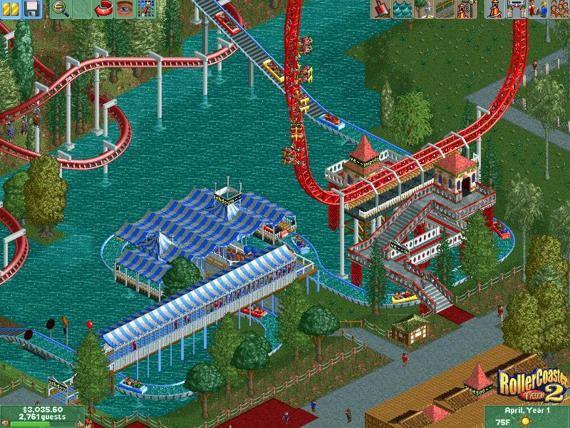 roller coaster tycoon 2 or 3
