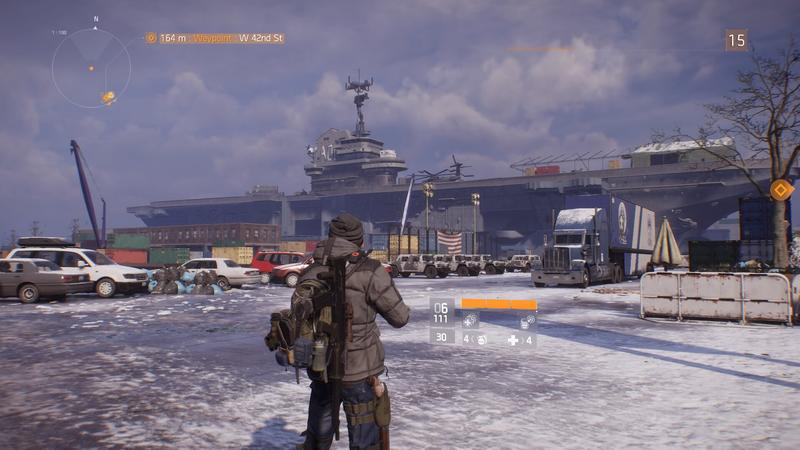 The Division Hidden Area