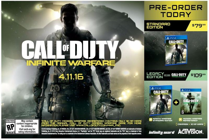 Call of Duty - Modern Warfare Remastered Leaked Ad