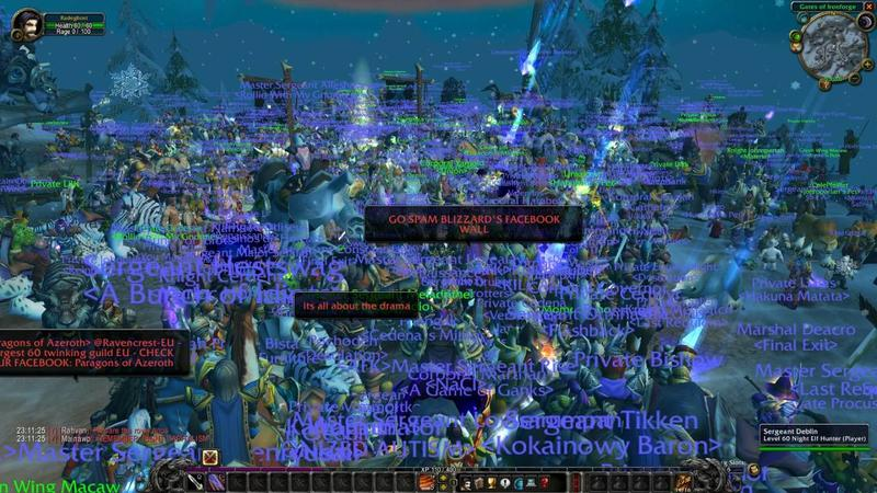 Thousands gather for the closure of World of Warcraft's popular private server