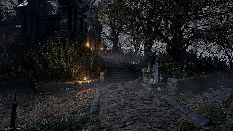 Bloodborne's environments remade in Unreal 4 by DICE employee for