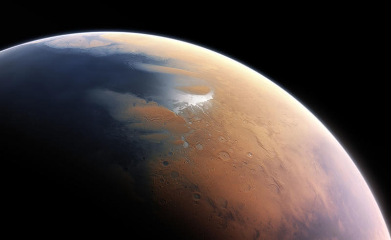 Mars as it may have looked