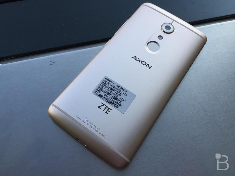 ZTE Axon 7 revealed: Hands-on with the beautiful flagship