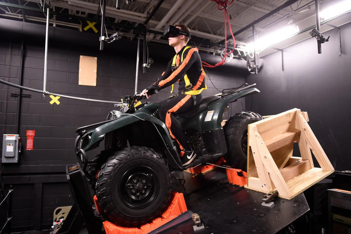 How the Oculus Rift lets researchers simulate ATV crashes