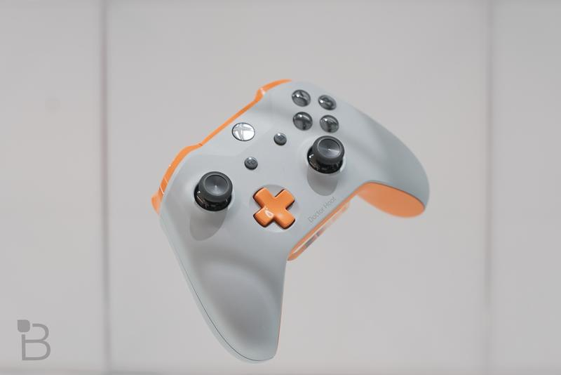 We made an Xbox controller in Xbox Design Lab, and the