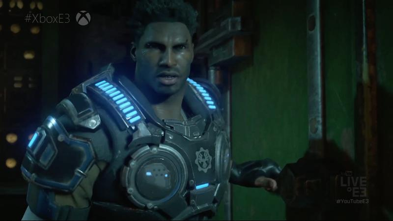 8 minutes of Gears of War 4 featuring new enemies and Old Marcus