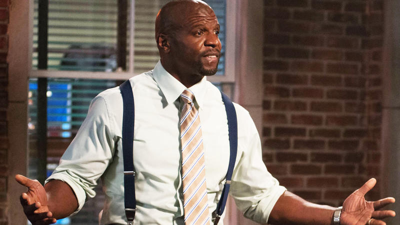 BROOKLYN NINE-NINE: Sgt. Terry Jeffords (Terry Crews) tries to overcomes his fears in the all-new