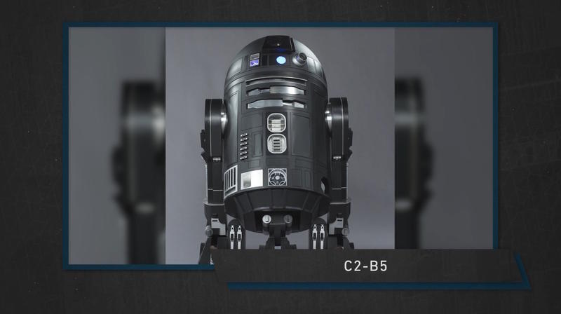 fa74dd751d617 New Rogue One droid looks like R2-D2's evil brother | TechnoBuffalo