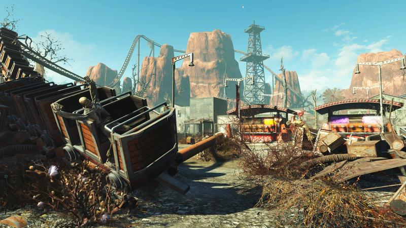 Fallout 4 S Nuka World Map Looks Straight Out Of Disney World