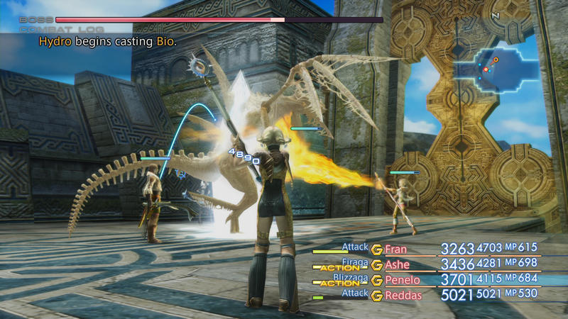 Final Fantasy XII: The Zodiac Age - 22 minutes of gameplay footage